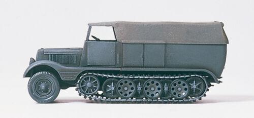 SdKfz 11 Preiser 16538 Halbketten-Zugmaschine 3 to Bausatz DR 1939-45 H0