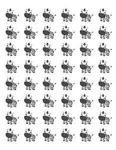 48-CUTE-BABY-ZEBRA-ENVELOPE-SEALS-LABELS-STICKERS-1-2-034-ROUND