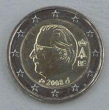 2 Euro Kursmünze Belgien 2008 unz