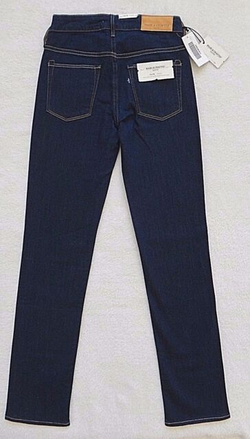 4e25cd84403 Levis Made Crafted Jeans Womens Size 25x32 Flute Straight Dark Denim ...