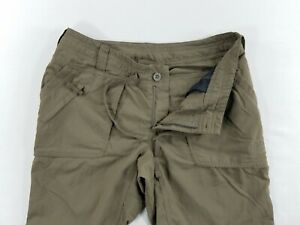 The-North-Face-Womens-Packable-Light-Weight-Hiking-Nylon-Pants-sz-4-Short