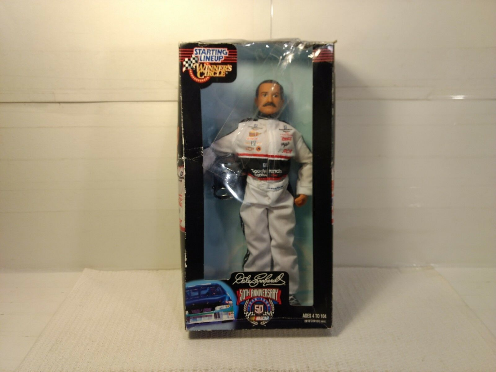 Starting Lineup Winners Circle Nascar 50th Anniversary Dale Earnhardt 12  Figure