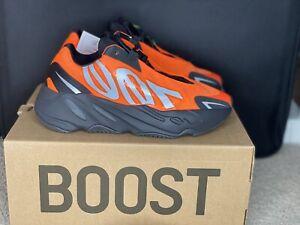 Adidas Boost Yeezy 700 MNVN Orange Size
