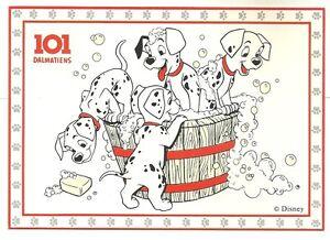 CPM-Disney-carte-postale-Les-101-Dalmatiens-Postcard