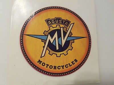 #404 Mv Agusta Motorcycles 10,5 Cm! Adesivo Autocollant Sticker Moto- Le Materie Prime Sono Disponibili Senza Restrizioni