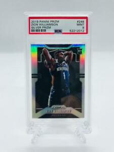2019-20 Panini Silver Prizm Zion Williamson PSA 9 Mint #248 Rookie