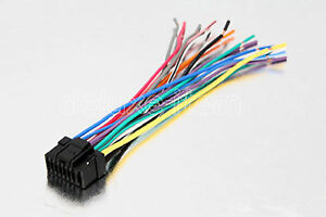 s l300 alpine car radio stereo 16 pin wire wiring harness 2 ebay alpine stereo harness at gsmx.co