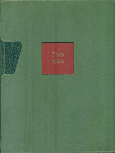 L'ARTE EGIZIA  WESTENDORF WOLFHART RIZZOLI 1969 L'ARTE NEL MONDO