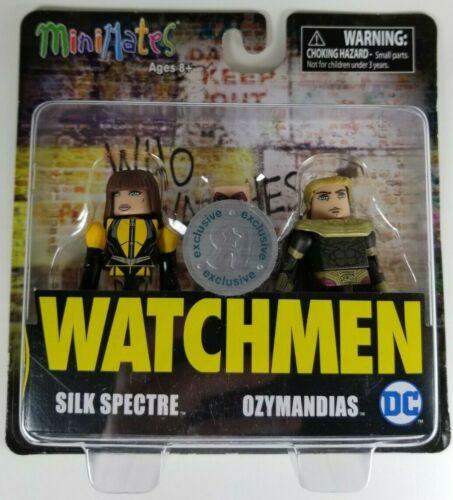 DC Minimates Watchman Silk Spectre /& Ozymandias Figures Toys R Us Exclusive New