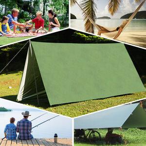 Sonnensegel-Sonnenschutz-3x3M-Camping-Zelt-Tarp-Wasserdicht-Tragbare-Zeltplane
