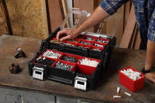 """Keter Cantilever petites pièces Organizer 18/"""" Assortiment Boîte Boîte à outils"""