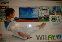 Wii Fit U Bundle W/ Balance Board & Fit Meter |brand Sealed Nintendo Wiiu