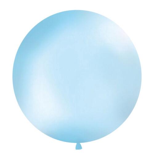 Latex Ballons Géant Ballon ø 1m pastel bleu ciel Ballon xxl raumdeko