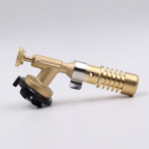 Butane Flame Gun Gas Torch Lighter Burner Outdoor Camping Picnic BBQ Portable