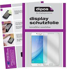 2x Samsung Galaxy C7 Pro Pellicola Protettiva Protezione Schermo Cristallo dipos
