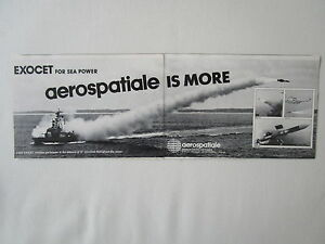 1/84 Pub Aerospatiale Engin Tactique Missile Am 39 Mm38 Mm40 Exocet Ad Yvsihldq-07235027-605764949