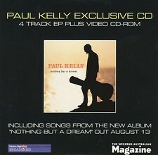 """PAUL KELLY """"ExclusiveCD"""" 2001 6Track CD  """"SomewhereInTheCity(Acoustic)"""""""