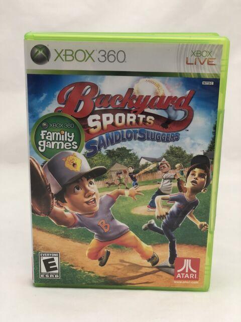 Backyard Sports Sandlot Sluggers - Xbox 360 for sale ...