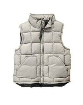 GYMBOREE SNOWBOARD LEGEND BLACK PUFFER LINED VEST 3 4 5 6 7 8 10 12 NWT