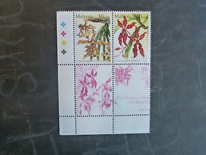 2002-MALAYSIA-17th-WORLD-ORCHID-CONF-BLK-4-DIFF-MINT-ORCHID-STAMPS-MNH-1