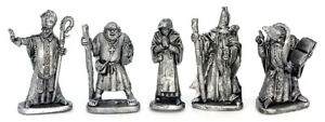 Medieval-Wizards-and-Priests-28mm-Unpainted-Metal-Wargames