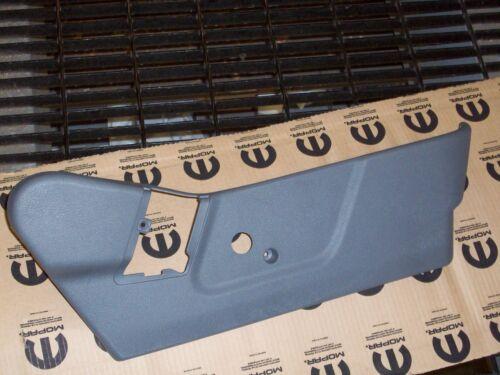 Dodge Ram Seat Trim Cover 1DH001D5AA OEM Mopar Passenger Side 06-08 Slate Gray