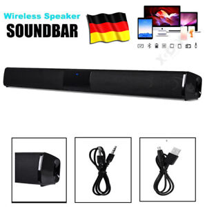 Bluetooth Wireless Home TV Soundbar Sound Detachable Lautsprecher Subwoofer Neu