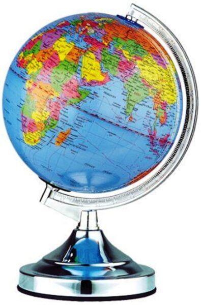 Office Desk Lamp Atlas World Map Earth Globe Touch Light Table Lamp Home  Decor