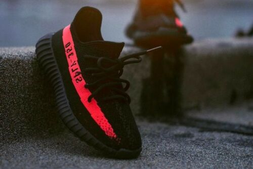 Adidas Yeezy Boost 350 v2 Black Red Bred CP 9652 SPLY Kanye