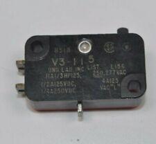 New Micro Switch Honeywell V3115 Pin Plunger Spdt Solder 11 A 250 Vdc