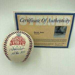 """Derek Jeter """"All Star Game MVP"""" Signed 2000 All Star Game Baseball Steiner COA"""