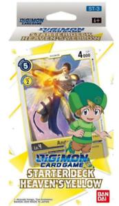 Bandai Digimon Heaven's Yellow Starter Deck Box Sealed ENGLISH NEW IN STOCK