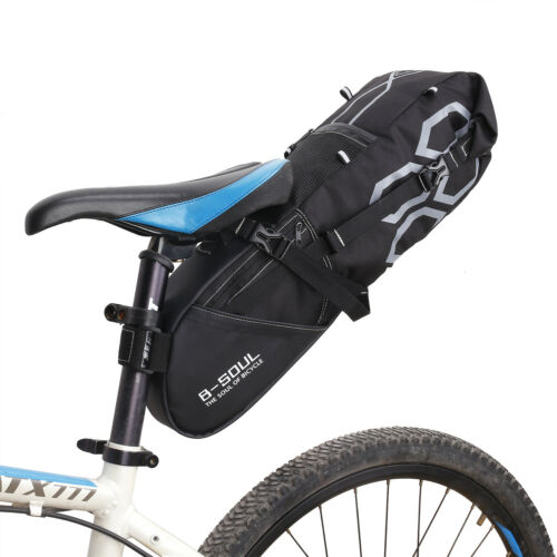 Large Bike Saddle Bag MTB Seat Pack Bag Cycling Bicycle Pocket for road bikes