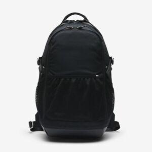 cc54022fc6a2 Nike NikeLab Backpack Black Mesh Leather Mens Womens School Book Bag ...