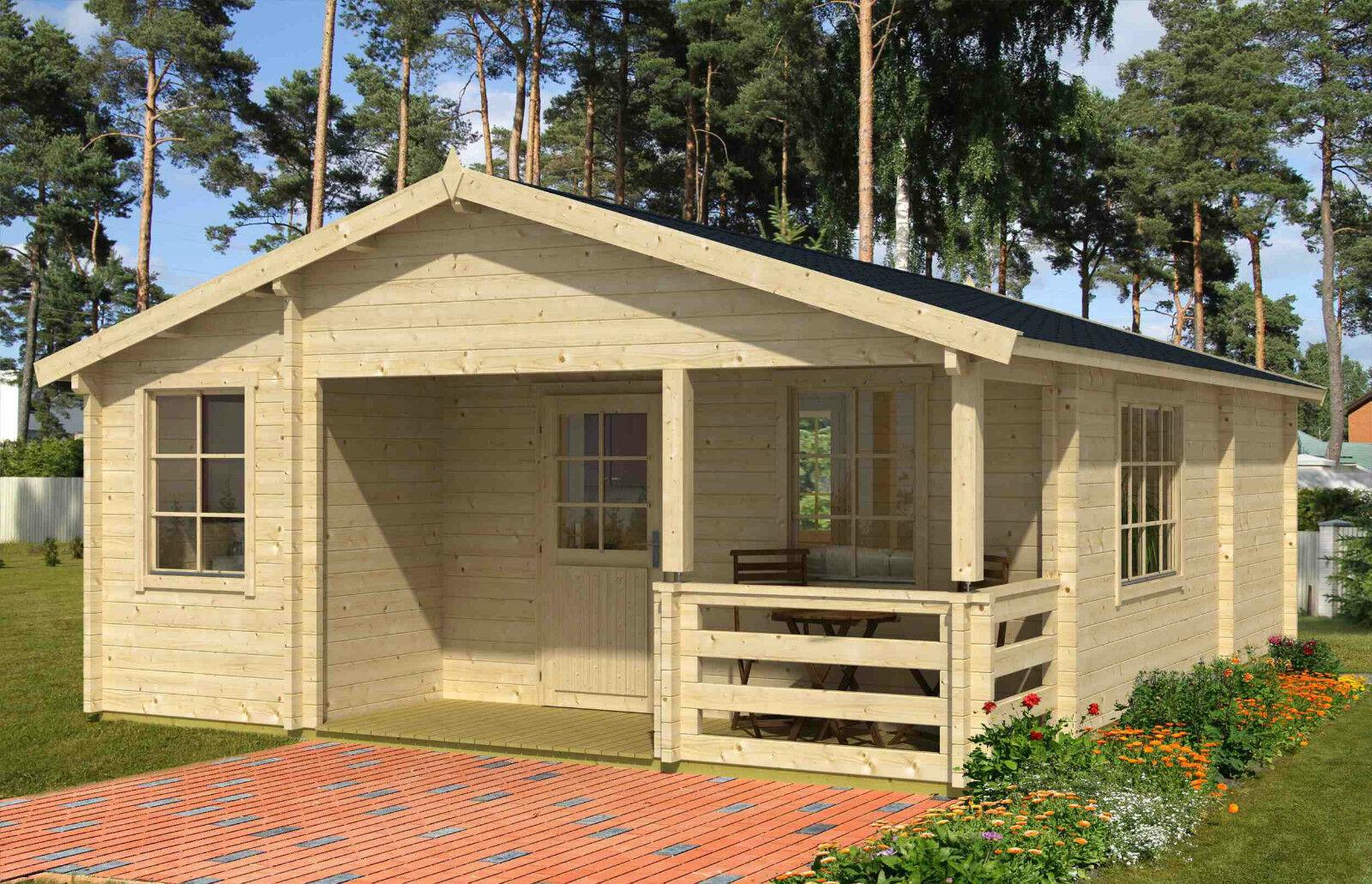 70 mm ferienhaus 595x795 cm terrasse gartenhaus. Black Bedroom Furniture Sets. Home Design Ideas