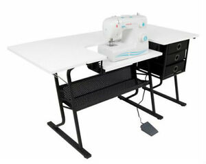 Folding Sewing Craft Cutting Table Hobby Quilting Art Home ... : folding quilting table - Adamdwight.com