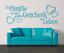 X4519-Wandtattoo-Spruch-Die-Familie-ist-Geschenk-Sticker-Wandaufkleber-Aufkleber Indexbild 2