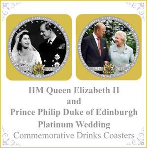 Hm Queen Elizabeth Ii Prince Philip Duke Of Edinburgh Platinum