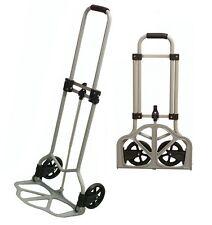 Heavy Duty 45Kg Pieghevole Sack TRUCK ALLUMINIO bagagli pieghevole trolley carrello
