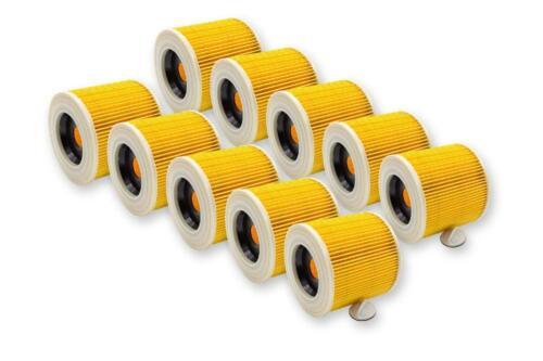 6.414-547.0 10x-Cartouche filtre Pour Karcher 6.414-772.0