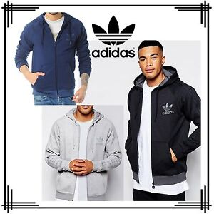 207b5ba1575e Image is loading adidas-Originals-SPO-Trefoil-Sports-Hoodie-Mens-Sweatshirt-