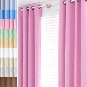 vorhang curtain schlaufenschal verdunklungs gardine blickdicht mit sen thermo. Black Bedroom Furniture Sets. Home Design Ideas