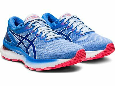 NIB - ASICS Women's GEL-NIMBUS 22 Soft Sky/Tuna Blue RUNNING ...