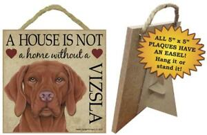 Gifts It/'s Not A Home Without A PRESA CANARIODogs Wood Sign