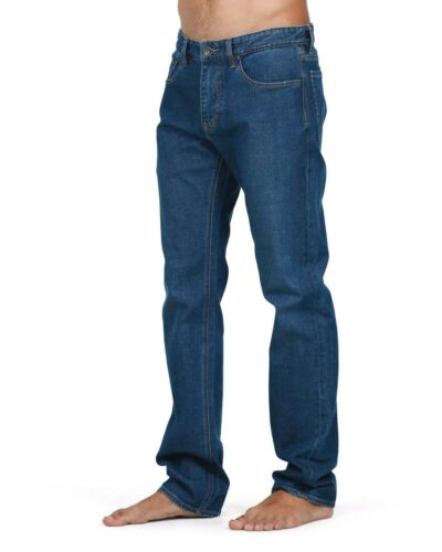 BILLABONG Men/'s Indigo Fifty Straight Leg Stretch Jeans Size 38 NWT RRP $99.99