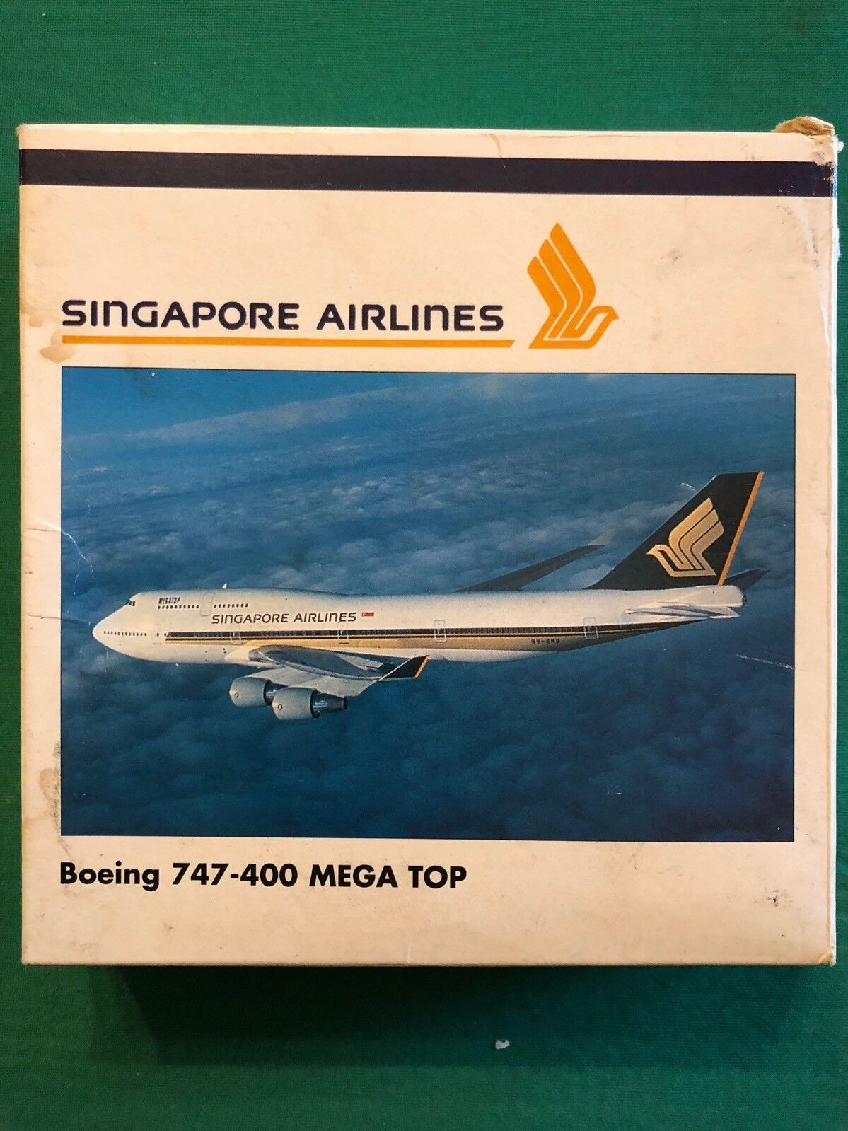 Boeing 747-400 MEGA TOP Singapore Airlines. Herpa Wings 1 500 - Art. nr. 500852