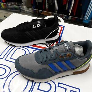 Detalles acerca de Adidas Para Hombre Zapato Mod. 8K 2020 - 2 colores (gris  EH1428) - (Negro EH1434)- mostrar título original