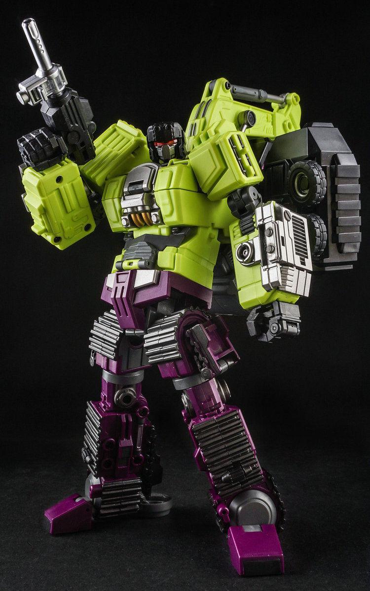 Transformers Generation Toy GT-1C Devastator Gravity Building Navvy