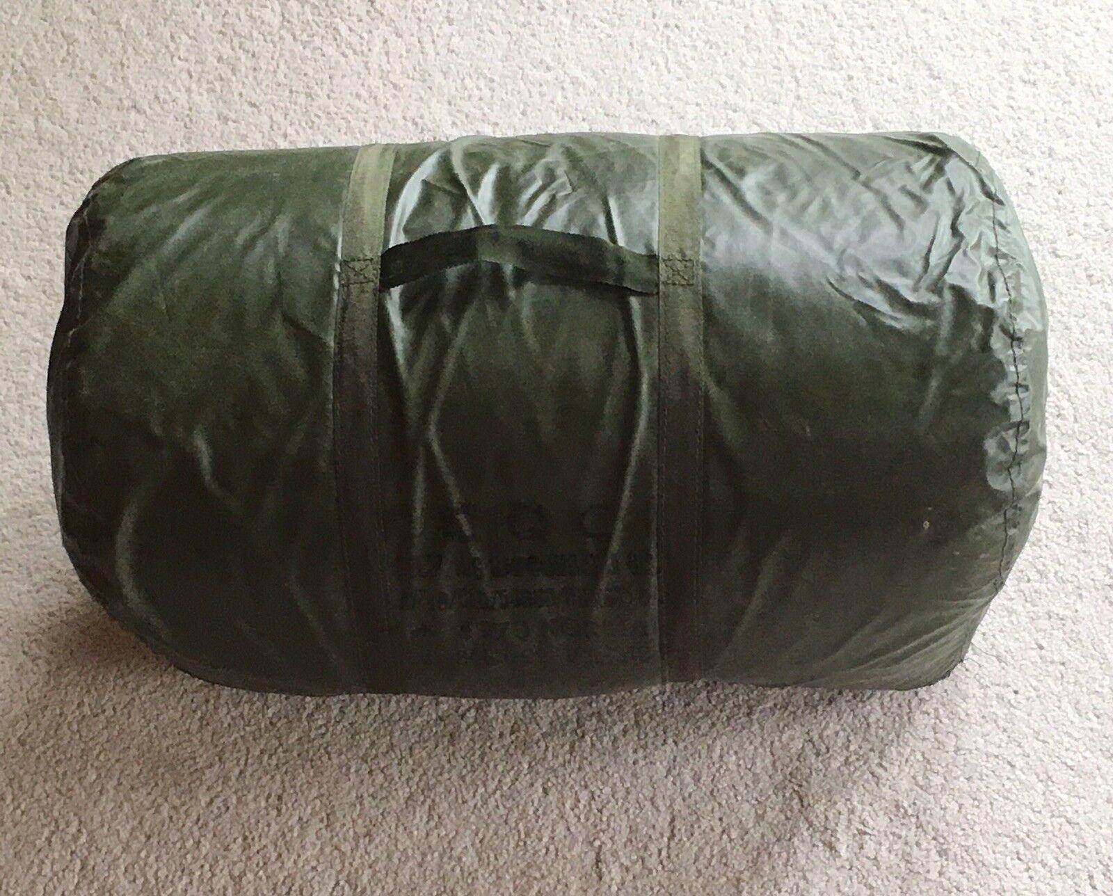 Vintage 1979 Military Mummy Sleeping Bag J1 Normal CQC LTD