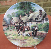 """Wedgwood  """"Country Days""""  Lunch Break  Plate"""
